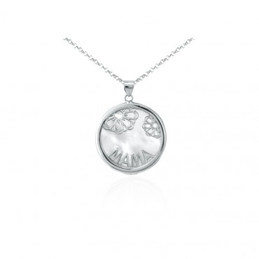 Sterling silver necklace pendant FID16-P02