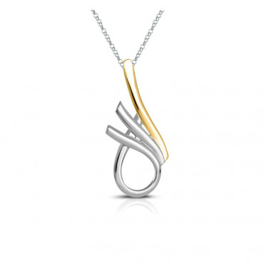 Sterling silver necklace pendant FID22-P03