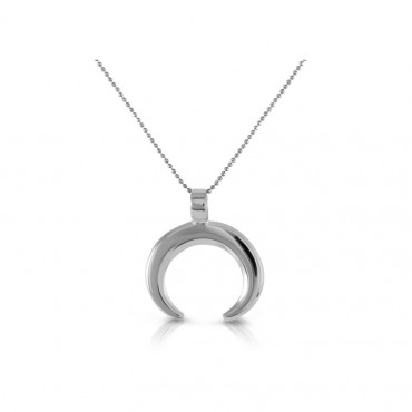 Sterling silver necklace pendant FID22-P011