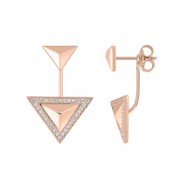 Bronze earrings EOLE15002.14