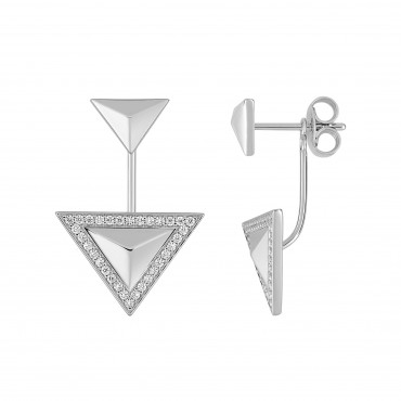 Sterling silver earrings EOLE35002.1