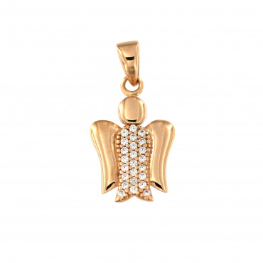 Rose gold angel pendant ARA01-13