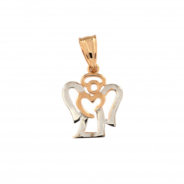 Rose gold angel pendant ARA01-16