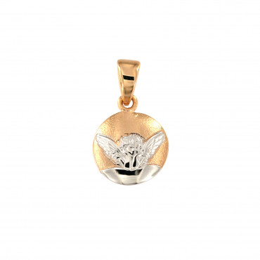 Rose gold angel pendant ARA02-07