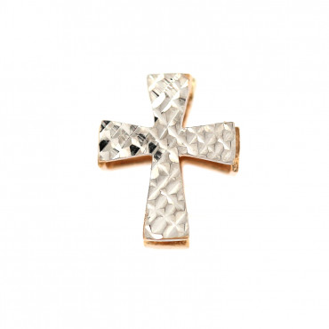 Gold cross pendant ABK02-02