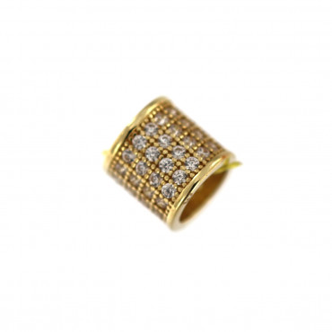 Yellow gold charm AGB01-02