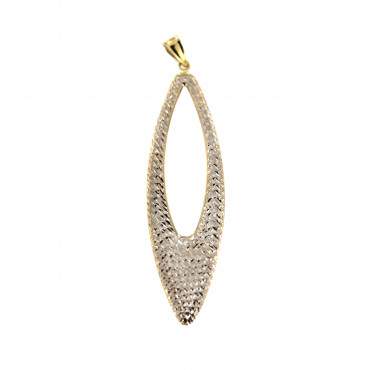 Yellow gold pendant AGBL04-07