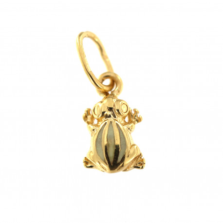 Yellow gold pendant AGG11-01