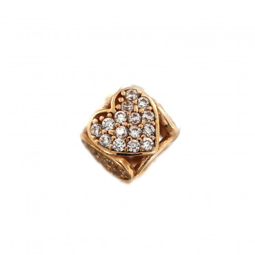 Rose gold charm ARB03-07