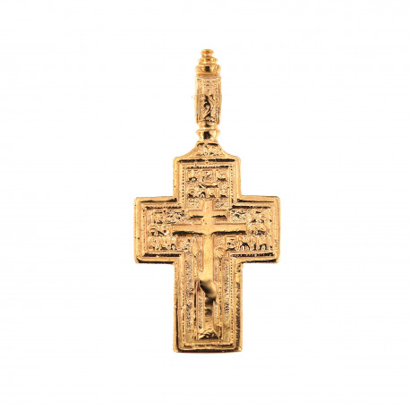 Rose gold cross pendant ARK05-05