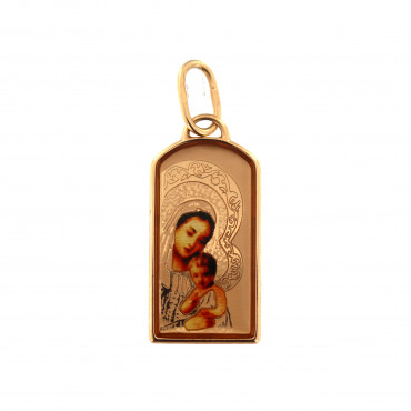 Rose gold icon pendant ARM01-17