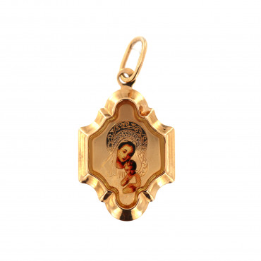Rose gold icon pendant ARM01-18