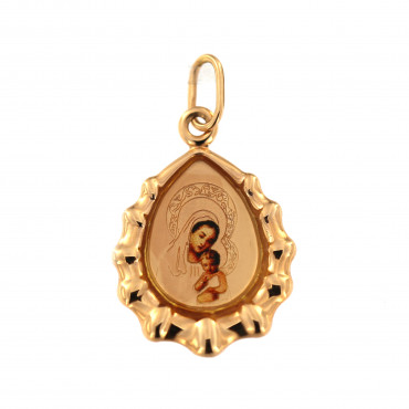 Rose gold icon pendant ARM01-19