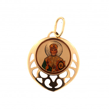 Rose gold icon pendant ARMR01-02