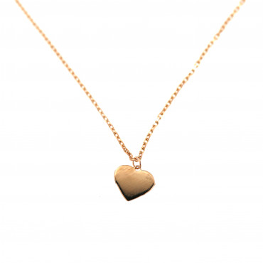 Rose gold pendant necklace CPR10-03