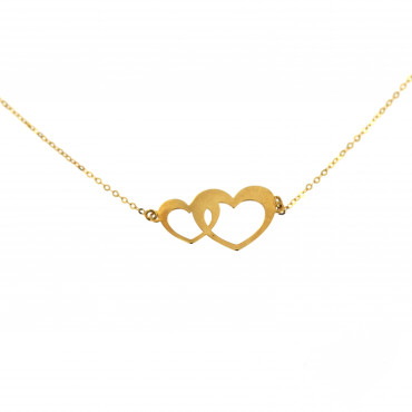 Yellow gold pendant necklace CPG03-01