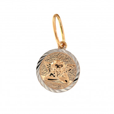 Rose gold angel pendant ARA02-01-1
