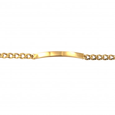 Yellow gold bracelet EGZSP01-04