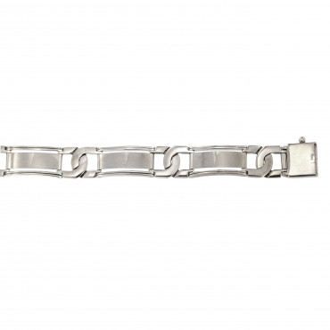 White gold bracelet EBST01-02-10.00MM