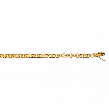 Yellow gold bracelet EGCBR-5.00MM
