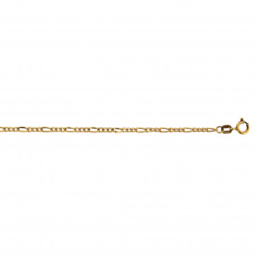 Yellow gold bracelet EGFG-1.20MM