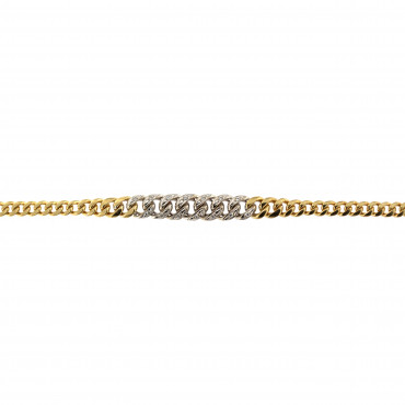 Yellow gold bracelet EGG1-4.00MM