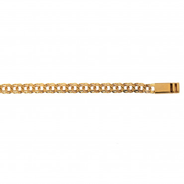Yellow gold bracelet EGLGAR7-5.00MM