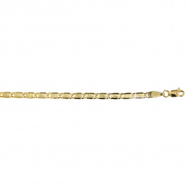 Yellow gold bracelet EGVALP-3.00MM