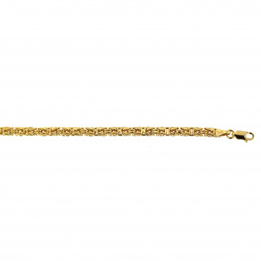 Yellow gold bracelet EGZF1-4.00MM