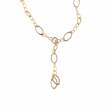 Rose gold pendant necklace CPR32-02