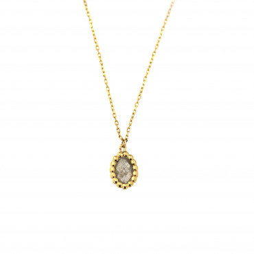 Yellow gold pendant necklace CPG02-05