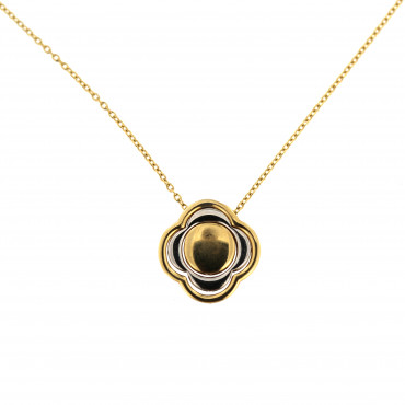 Yellow gold pendant necklace CPG05-01