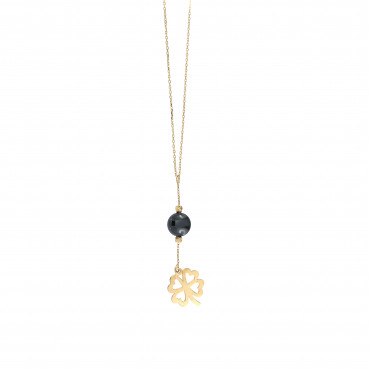 Yellow gold pendant necklace CPG05-05