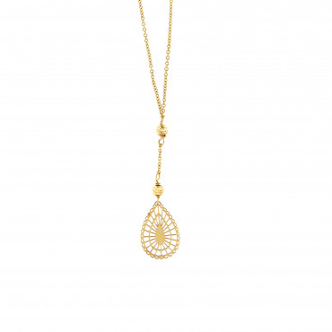 Yellow gold pendant necklace CPG06-01