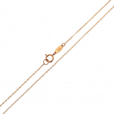 Rose gold chain CRTW-0.50MM
