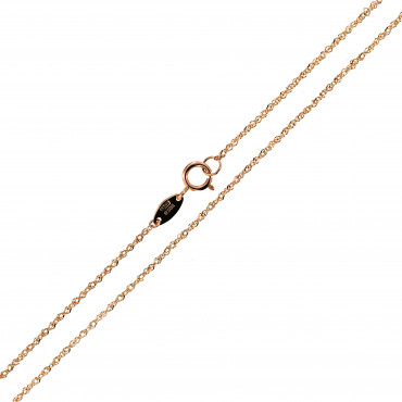 Rose gold chain CRTW-0.80MM