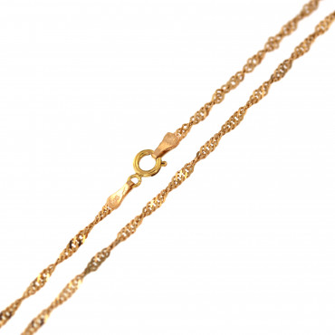 Rose gold chain CRTW-1.70MM