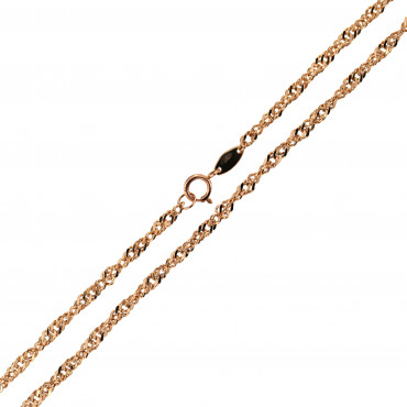 Rose gold chain CRTW-2.00MM