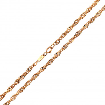 Rose gold chain CRTW-3.00MM