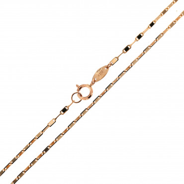 Rose gold chain CRVAL-1.10MM