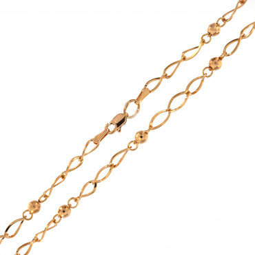 Rose gold chain CRZF04-4.00MM