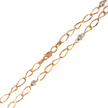 Rose gold chain CRZF04-B4.00MM
