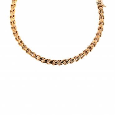 Rose gold chain CRZF15-6.00MM