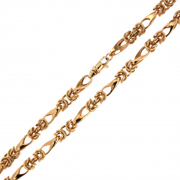 Rose gold chain CRZF19-5.00MM
