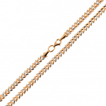 Rose gold chain CRZF21-4.00MM