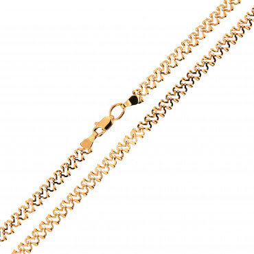 Rose gold chain CRZFP08-4.00MM