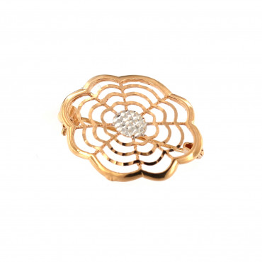 Rose gold brooch FRS05-08