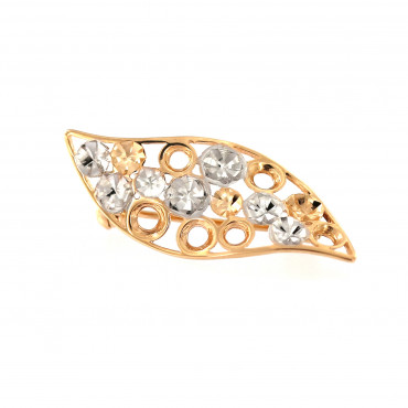 Rose gold brooch FRS05-09