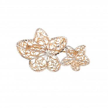 Rose gold brooch FRS05-12