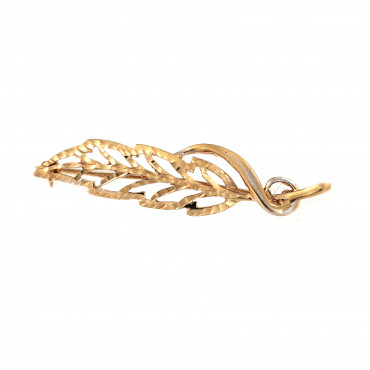Rose gold brooch FRS05-14
